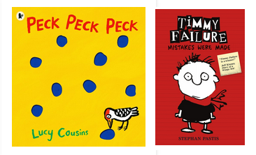 Peck, Peck, Peck and Timmy Failure are big winners at the Kindle Booktrust Awards