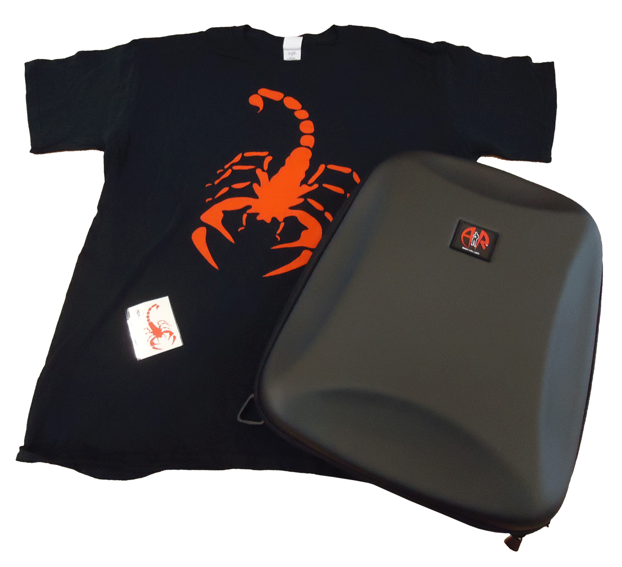 Alex Rider Backpack and Tshirt