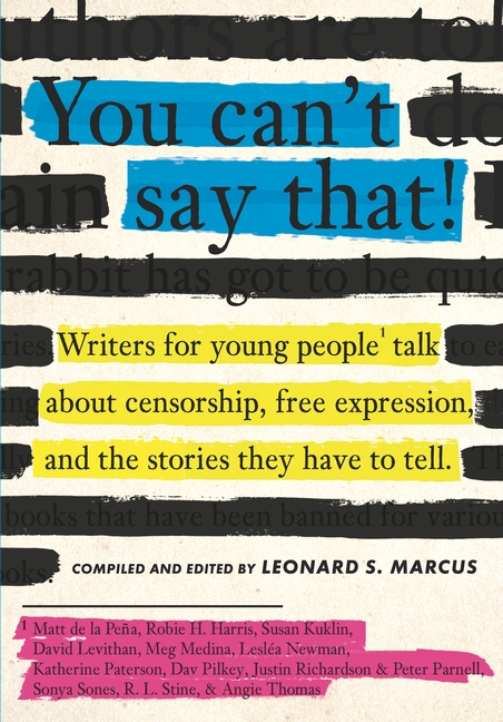 You Can't Say That! by Leonard S. Marcus