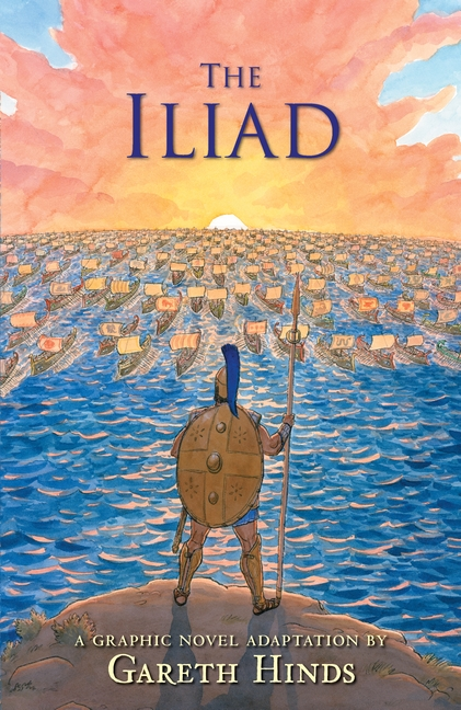The Iliad by Gareth Hinds