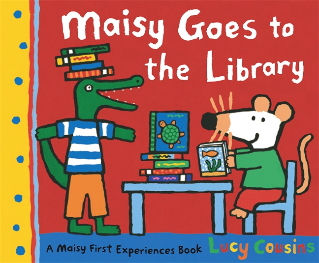 Maisy Goes to the Library by Lucy Cousins