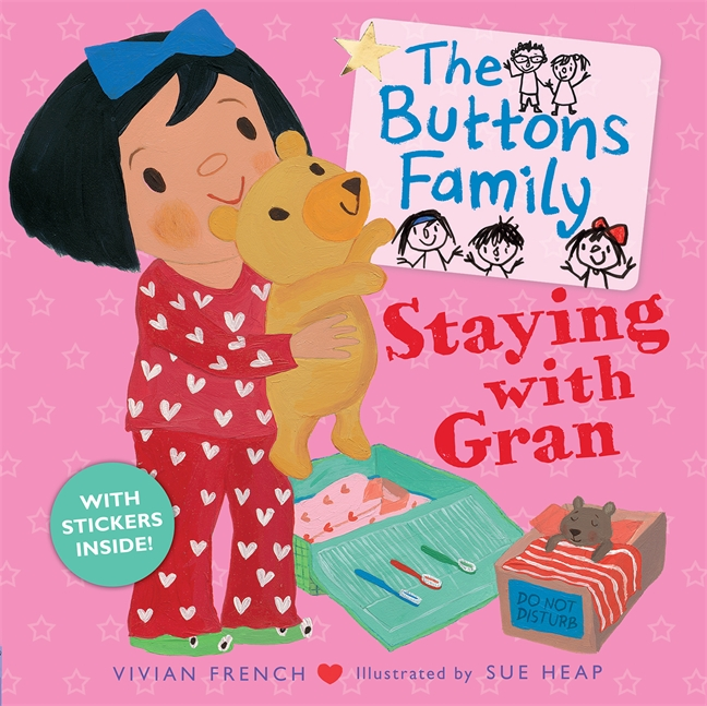 The Buttons Family: Staying with Gran by Vivian French