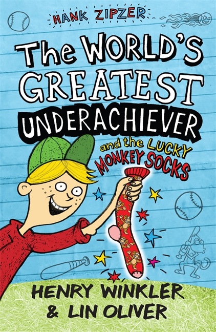 Hank Zipzer 4: The World's Greatest Underachiever and the Lucky Monkey Socks by Henry Winkler, Lin Oliver