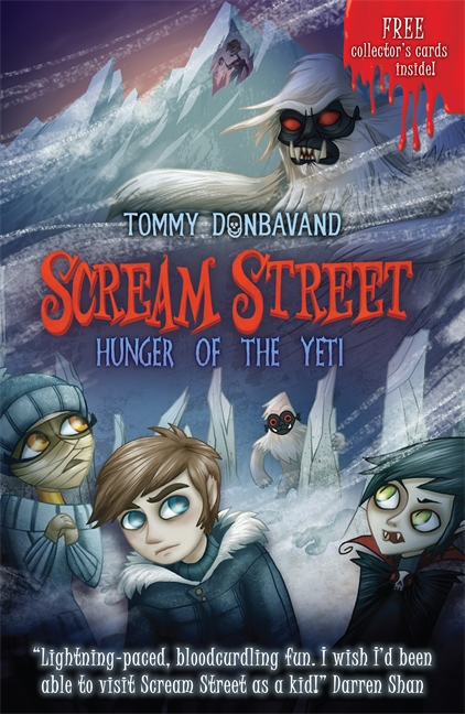 Scream Street 11: Hunger of the Yeti by Tommy Donbavand