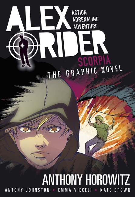 Scorpia Graphic Novel by Anthony Horowitz, Antony Johnston