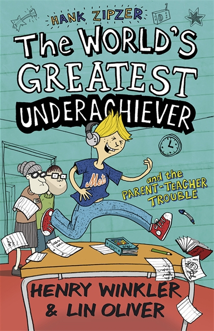 Hank Zipzer 7: The World's Greatest Underachiever and the Parent-Teacher Trouble by Henry Winkler, Lin Oliver