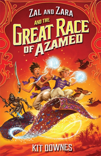 Zal and Zara and the Great Race of Azamed by Kit Downes