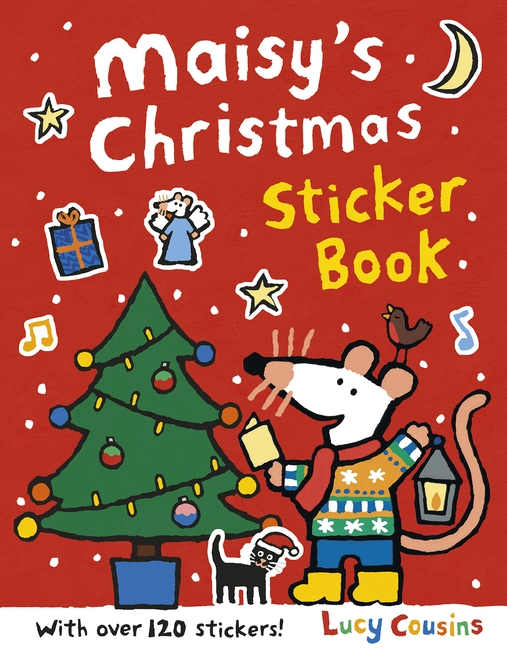 Maisy's Christmas Sticker Book by Lucy Cousins
