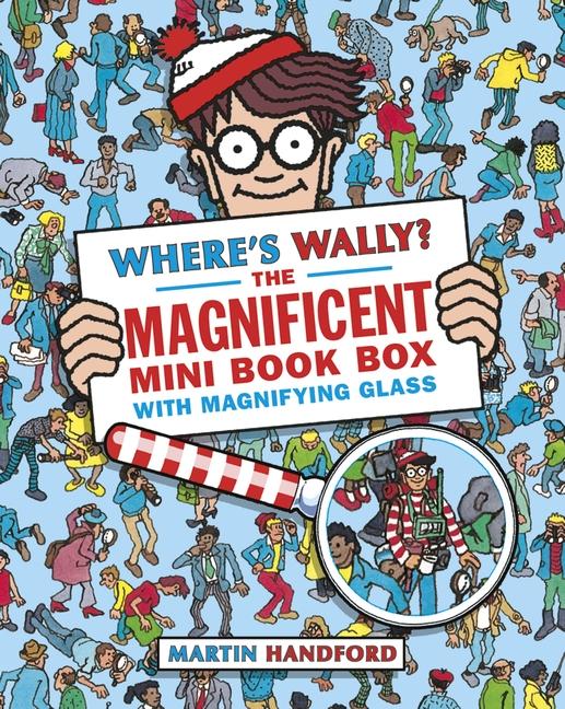 Where's Wally? The Magnificent Mini Book Box by Martin Handford