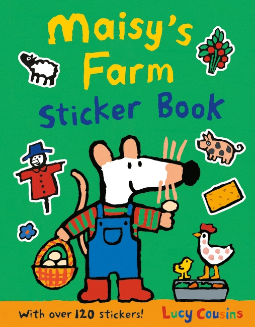 Maisy's Farm Sticker Book by Lucy Cousins