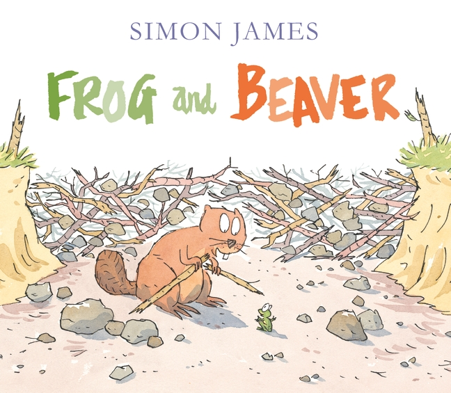 Frog and Beaver by Simon James