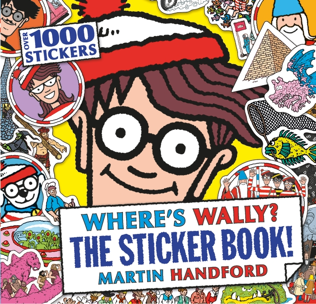Mini Size Game Ideas: Where's Wally? The Sticker Book