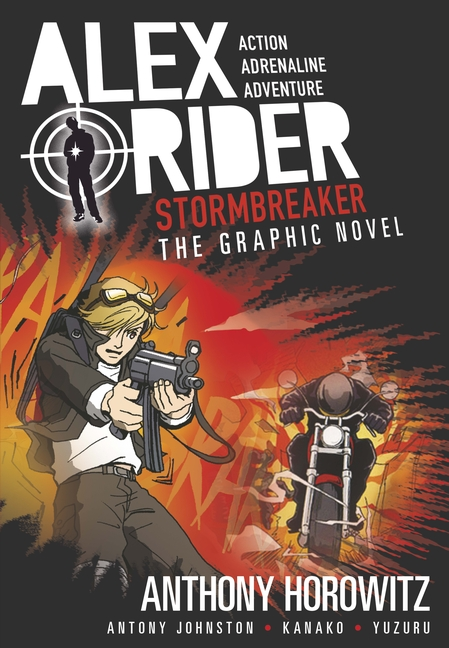 Stormbreaker Graphic Novel by Anthony Horowitz, Antony Johnston