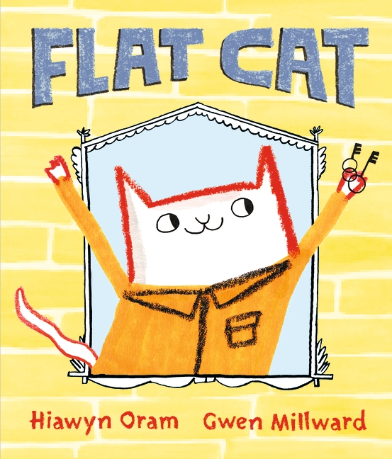 Flat Cat by Hiawyn Oram