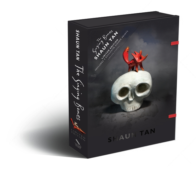 The Singing Bones Limited Edition Gift Box by Shaun Tan