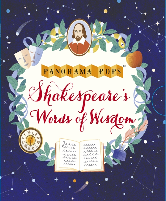 Shakespeare's Words of Wisdom: Panorama Pops by Tatiana Boyko