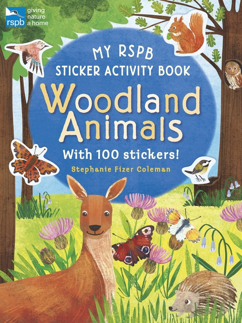 My RSPB Sticker Activity Book: Woodland Animals by Eryl Nash