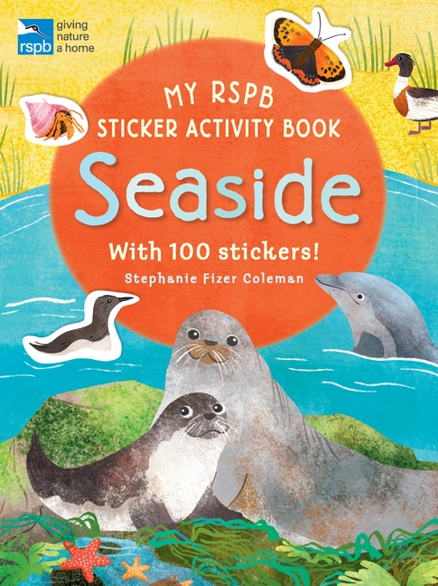 My RSPB Sticker Activity Book: Seaside by Anonymous