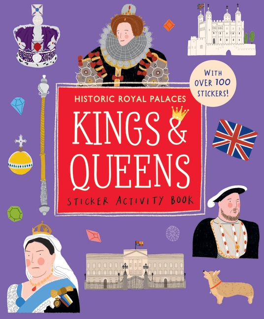 Kings and Queens Sticker Activity Book by