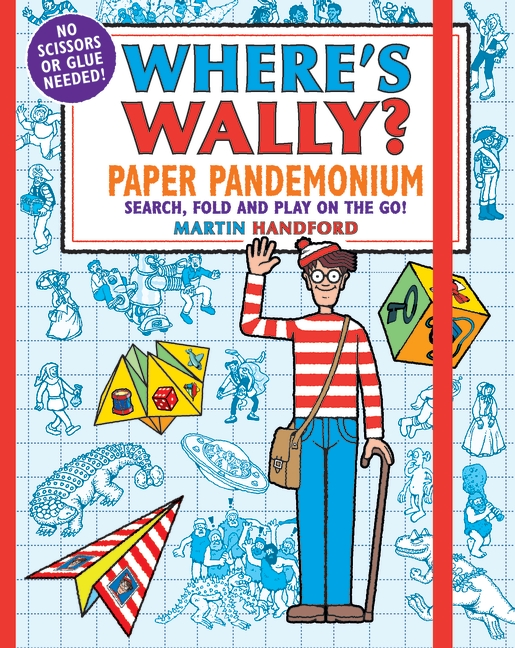 Where's Wally? Paper Pandemonium by Martin Handford