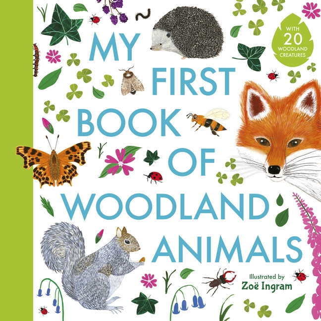 My First Book of Woodland Animals by