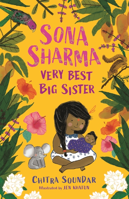Sona Sharma, Very Best Big Sister by Chitra Soundar