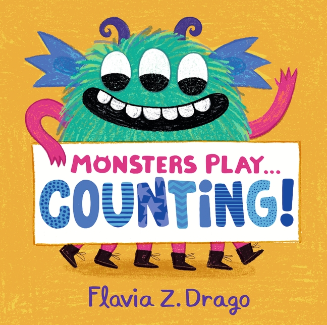 Monsters Play... Counting! by Flavia Z. Drago