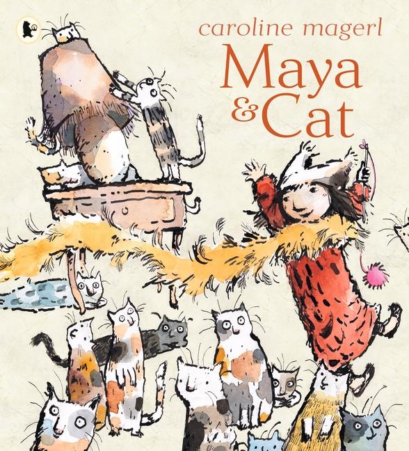 Maya and Cat by Caroline Magerl