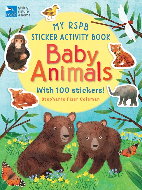 My RSPB Sticker Activity Book: Baby Animals by