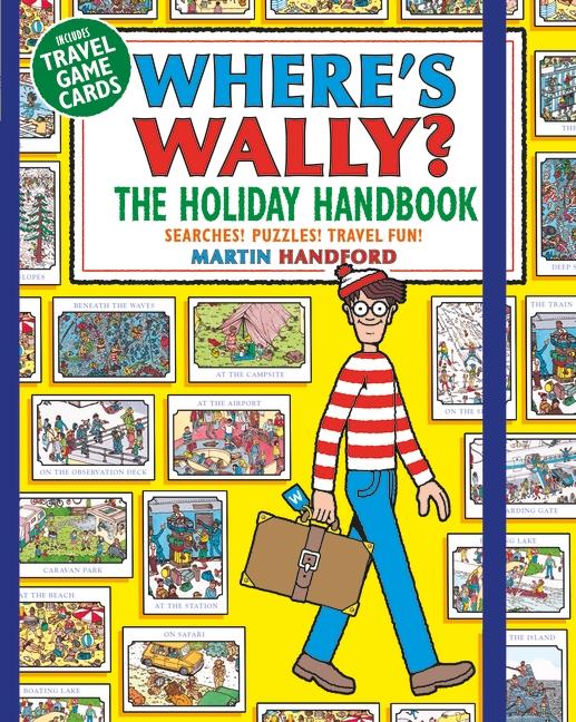 Where's Wally? The Holiday Handbook by Martin Handford