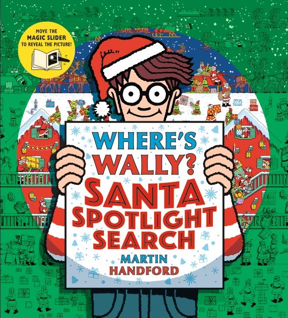 Where's Wally? Santa Spotlight Search by Martin Handford